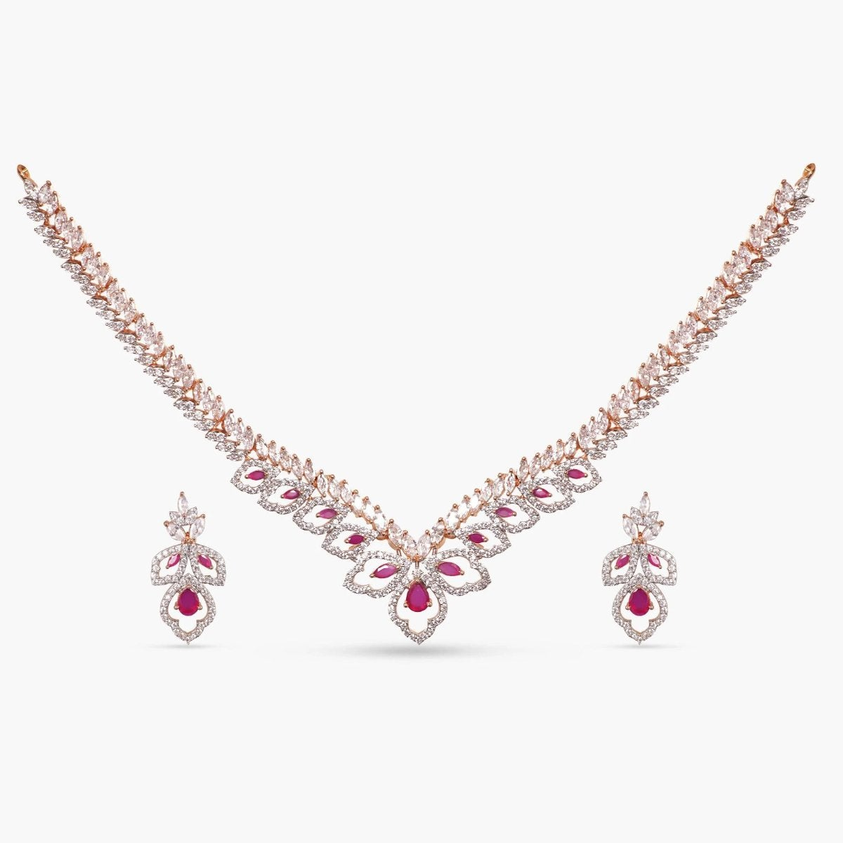 Advika Nakshatra CZ Necklace Set