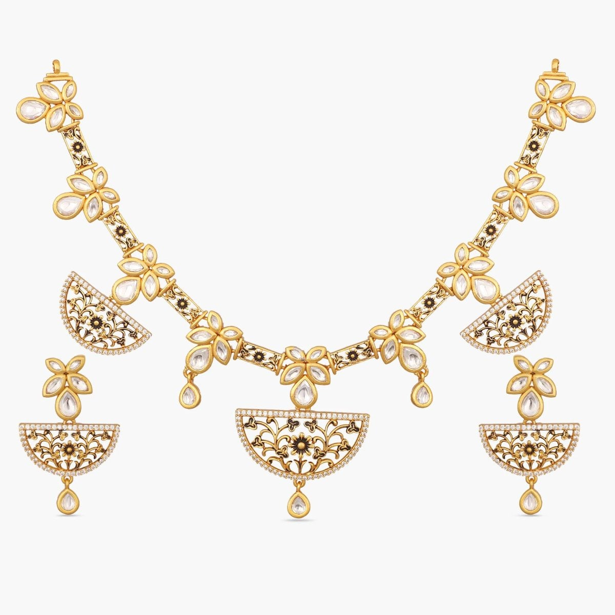 Madhu Kundan Necklace Set