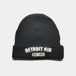 Detroit Kid Cuffed Beanie with Chenille Logo