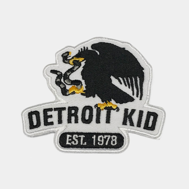 Detroit Kid Logo T-Shirt with Eagle Patch