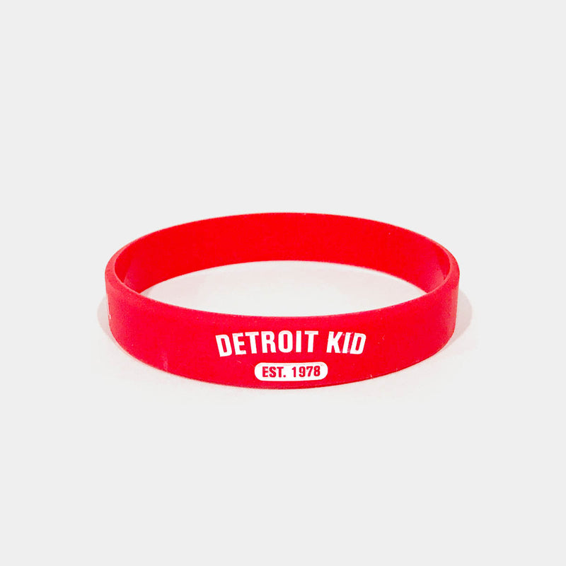 Detroit Kid (Spanish) Silicon Wristband