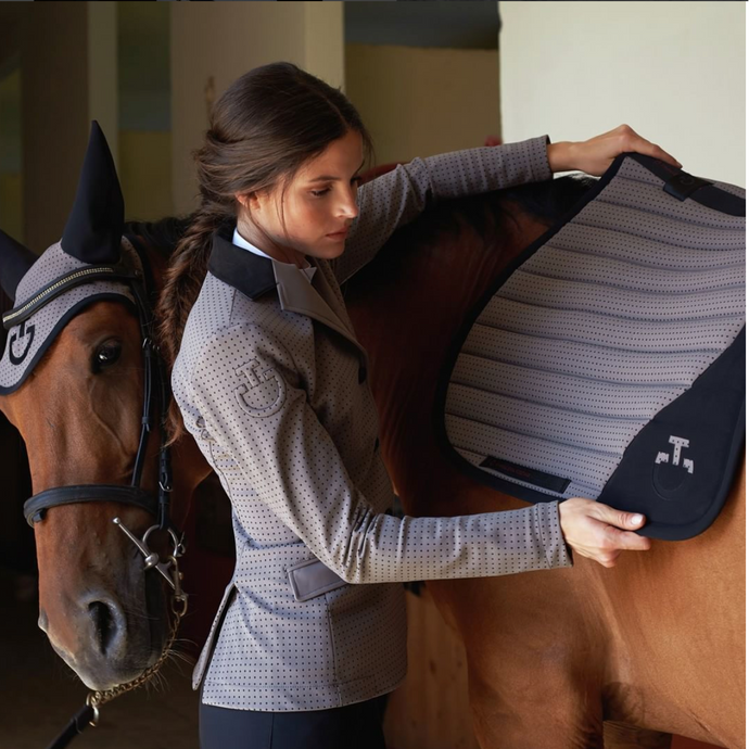 You Don't Have to Ride in the Grand Prix to Feel Like a Winner in Cavalleria Toscana's GP Jacket