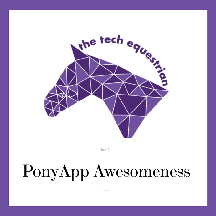 The Tech Equestrian: PonyApp Awesomeness