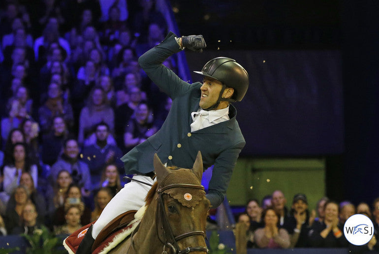 Delestre & Ryan after the Amsterdam CSI5* Grand Prix. Photo © Jenny Abrahamsson/World of Show Jumping