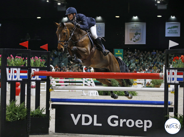 Henrik von Eckermann & Toveks Mary Lou. Photo © Jenny Abrahamsson/World of Show Jumping