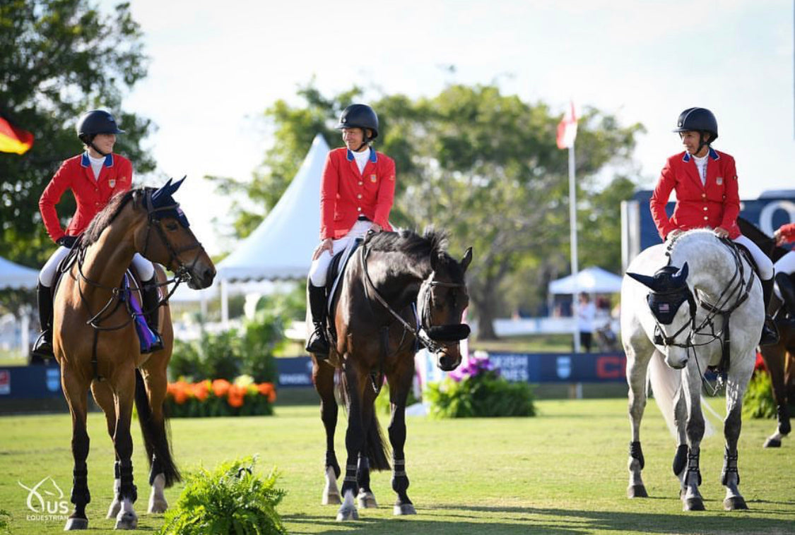 Amateur, Show Jumping, Lucy Deslauriers, Winning, Team USA