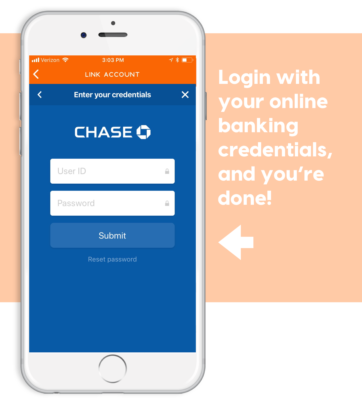 ach transfer through ponyapp login to bank