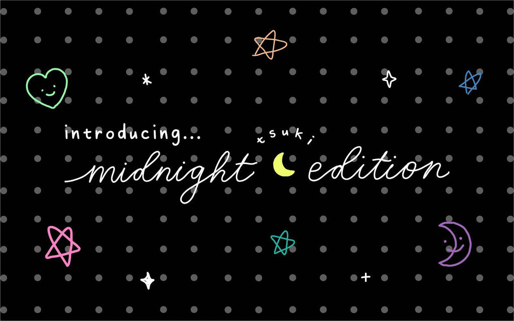 Introducing Our Tsuki 'Midnight Edition' Black Page Bullet Journal