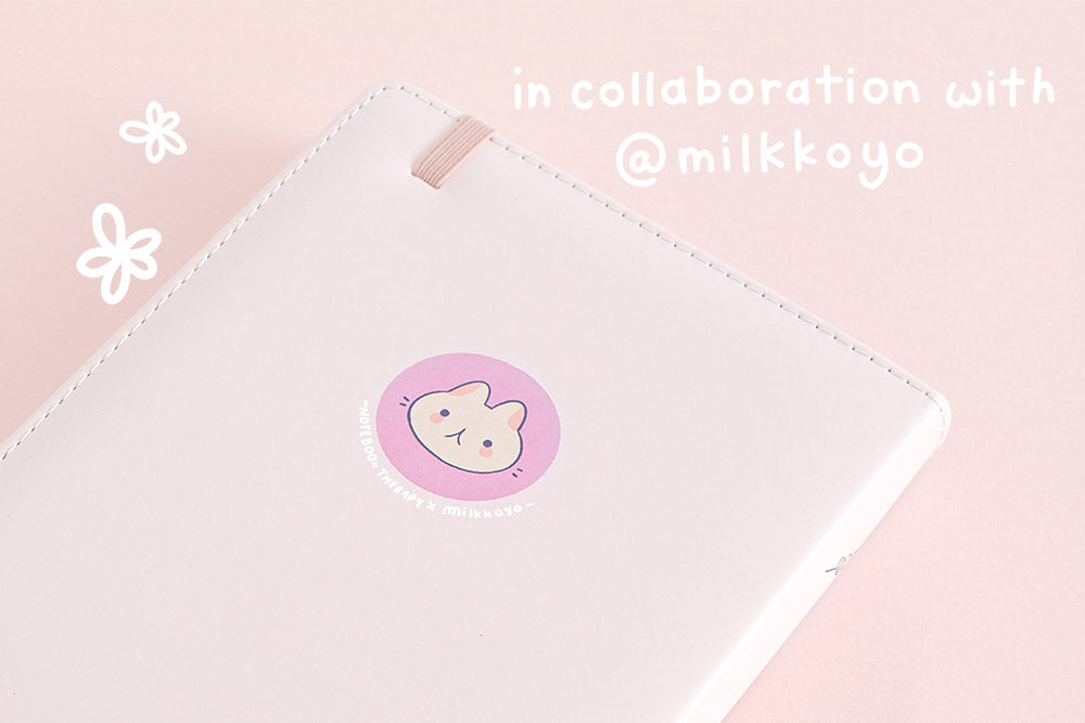 spring notebook in collaboration with milkkoyo