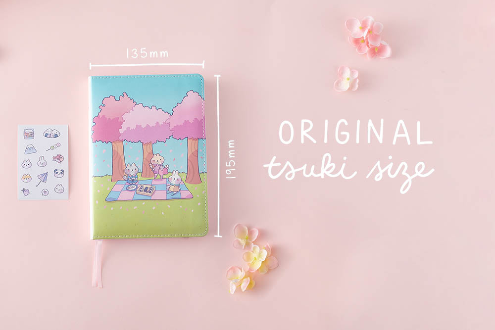 tsuki original size spring edition bullet journal
