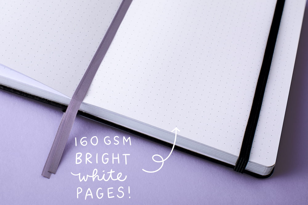 160GSM white pages