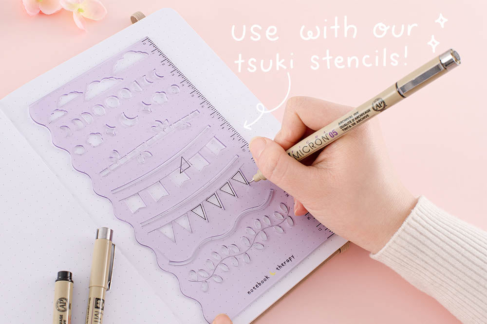 use with out tsuki stencils