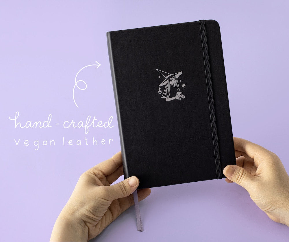 hand crafted vegan leather