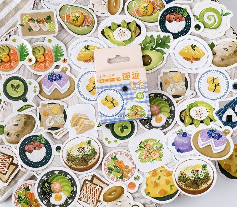 Eat your Avocado Sticker Set