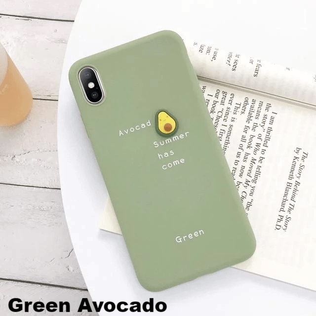 Pastel Fruits iPhone Case