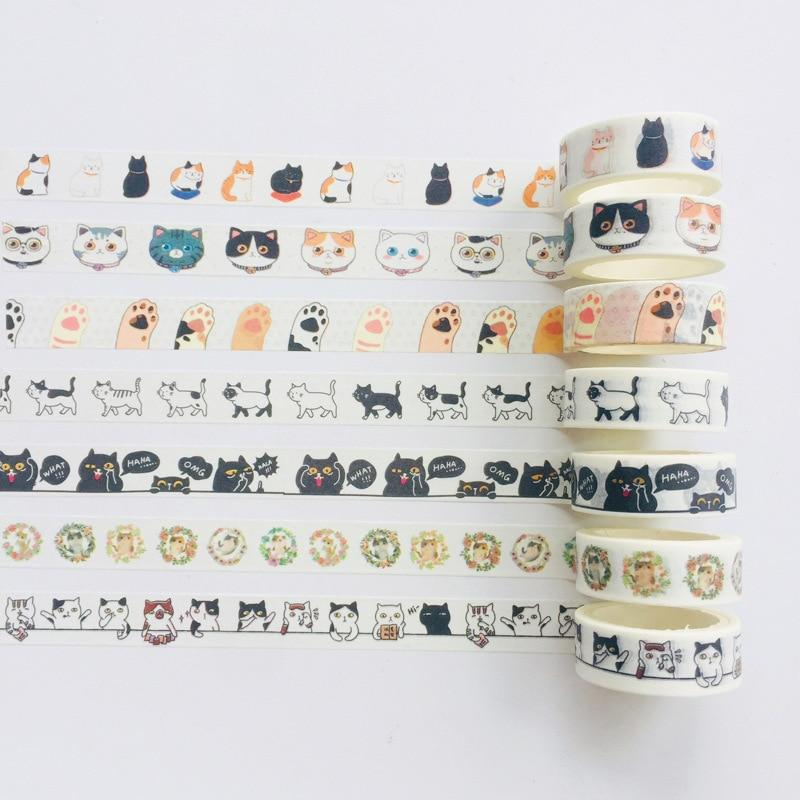 Paws + Cats Washi Tape