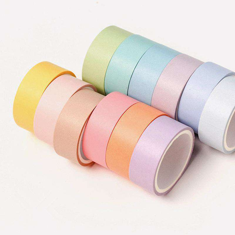 12 Color Macaroon Washi tape