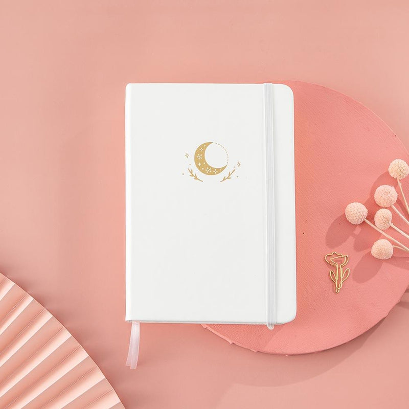 Tsuki 'Moonflower' Winter Limited Edition Luxury Bullet Journal ☾