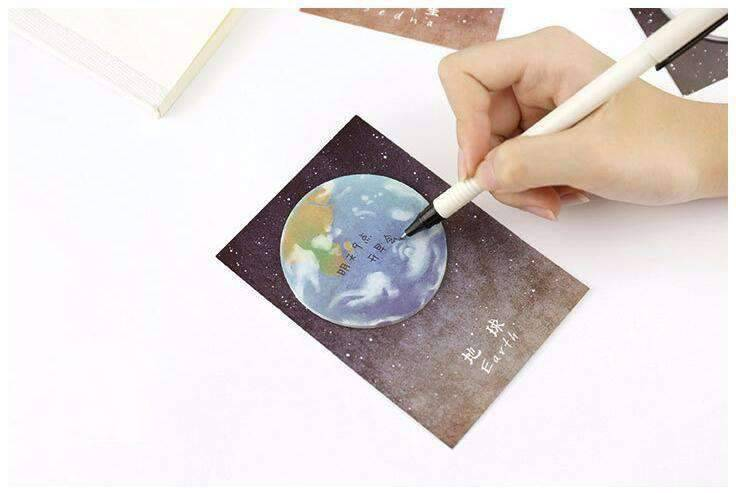 The Beautiful Planet Sticky Notes