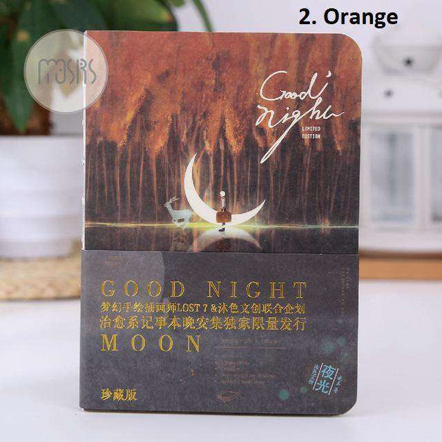 Good Night Moon Notebook - Glow in the Dark!