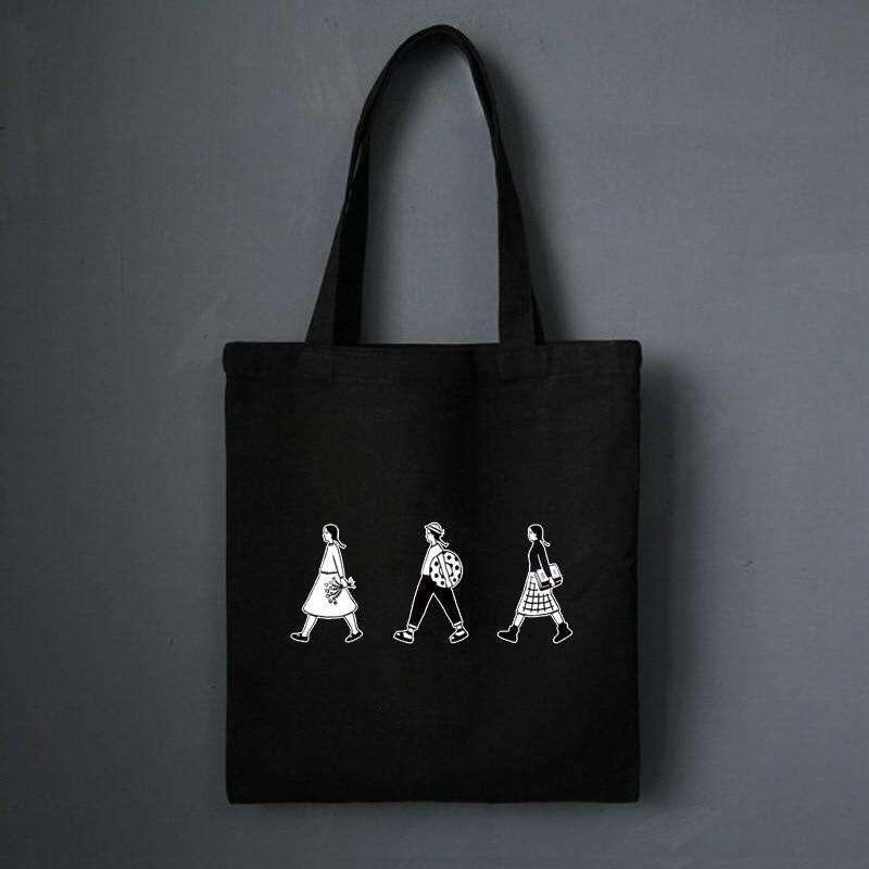 Quirky Character Eco Tote Bag