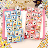 Cartoon Animal Sticker Sets