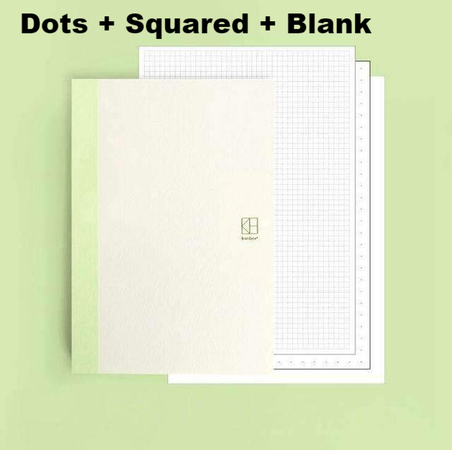 Basic Colourful A5 Notebooks - Dot, Grid, Blank, Ruled & Mixed Pages