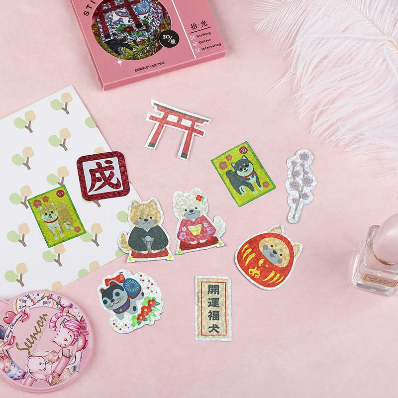 Kawaii Foil Sticker Set