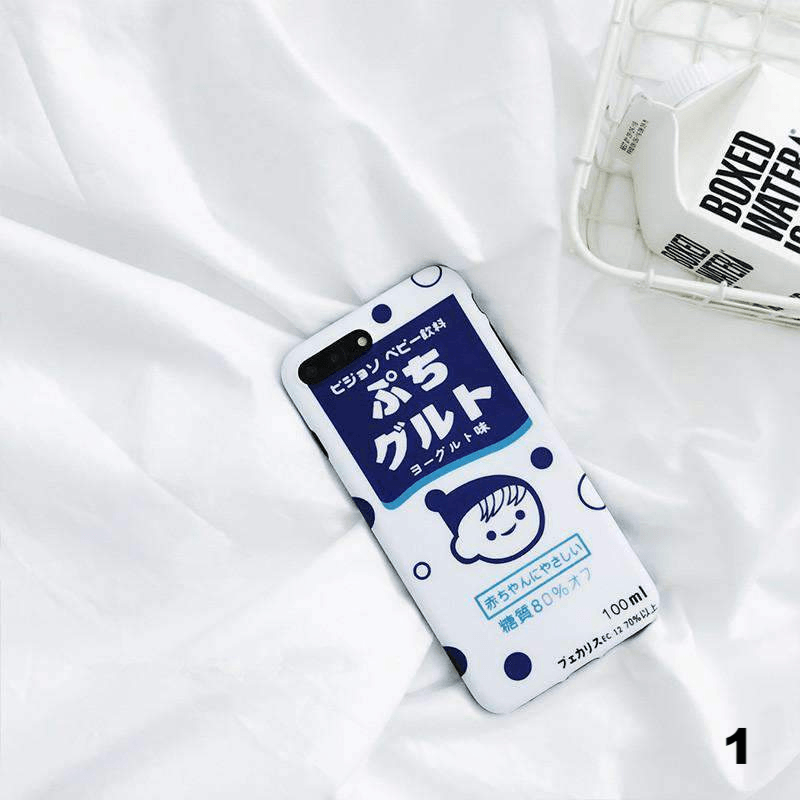Japanese Milk iPhone Case