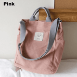 Pastel Aesthetic Canvas Tote Bag