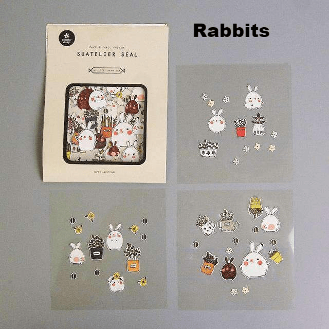 Kawaii Stickers - Set of 3!