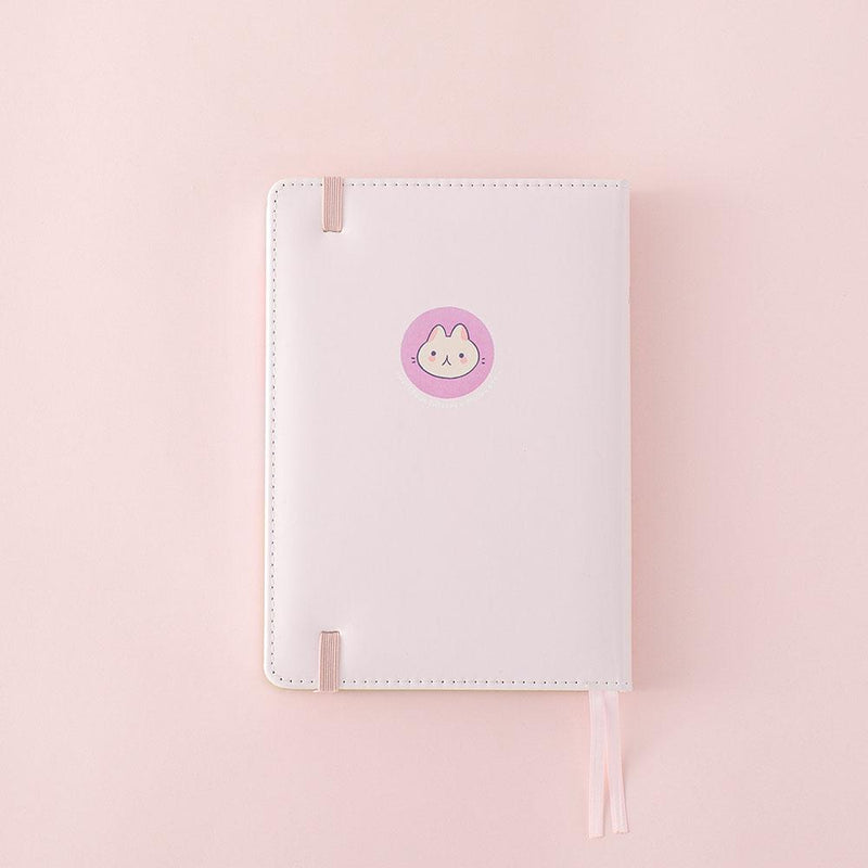 back cover of tsuki spring edition bullet journal