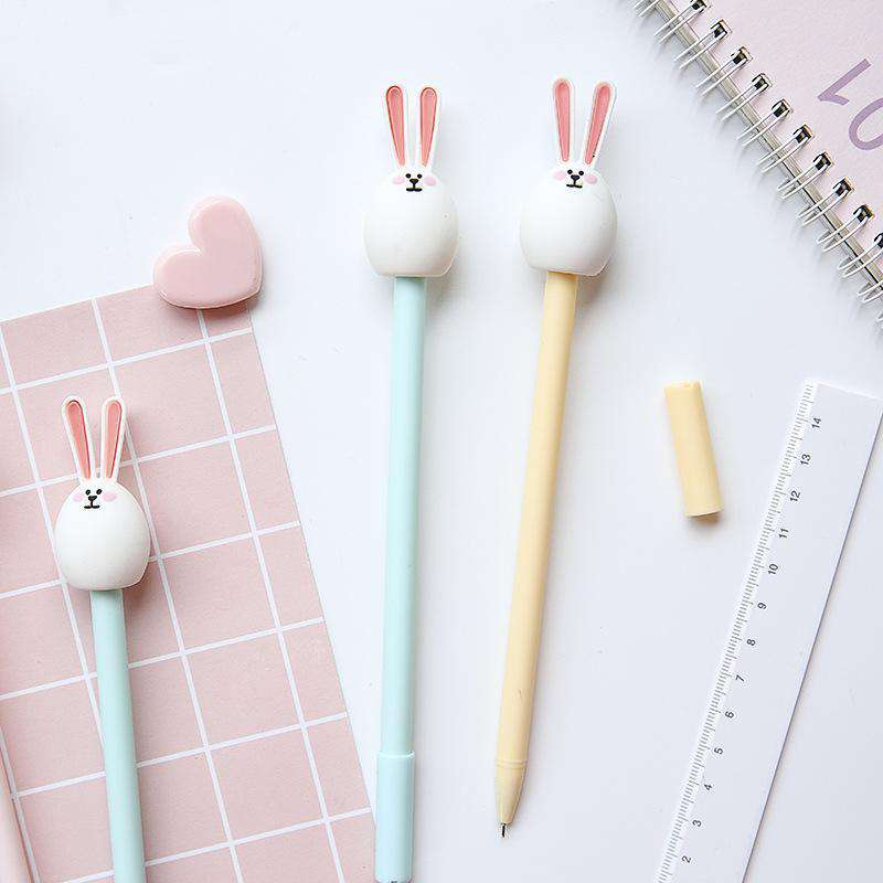 Chubby Bunny Gel Pen - Set of 3!