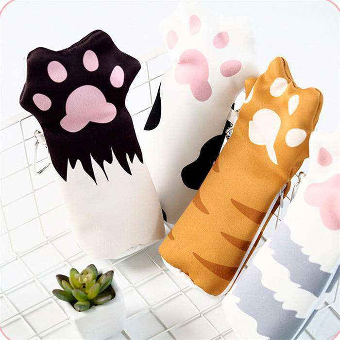 Cat Paw Pencil Case