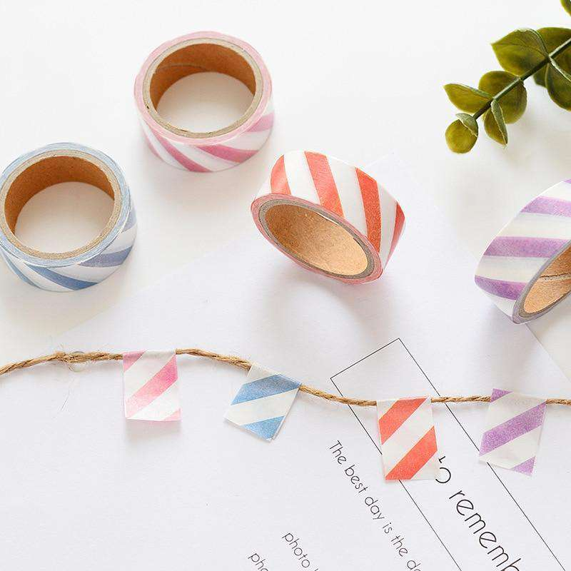 Block Colour Washi Tape - Set of 4!