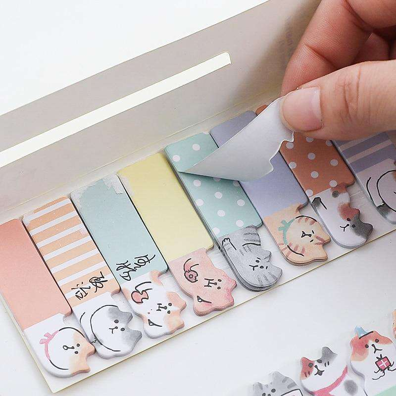 Happy Kitty Sticky Notes - Set of 4!