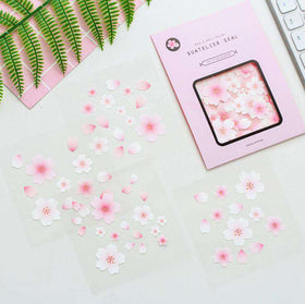 Delicate Cherry Blossom Stickers