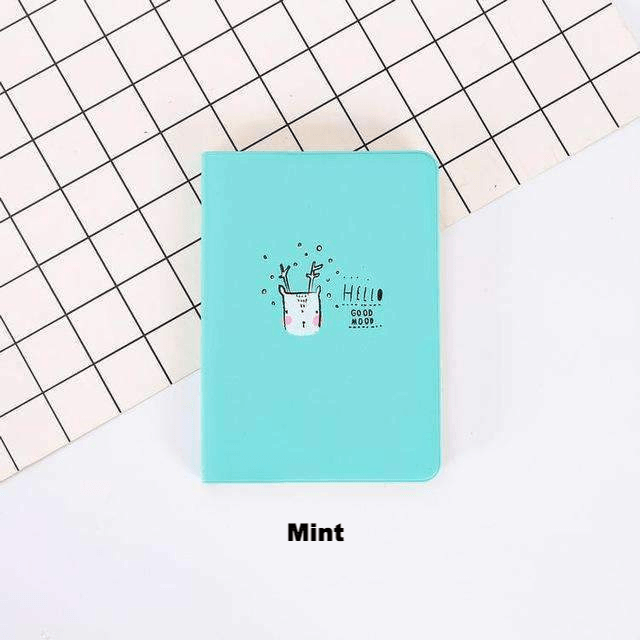 Hello Good Mood Leather Yearly Planner