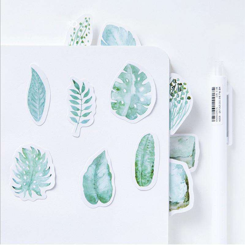 Mint Leaves Stickers Set