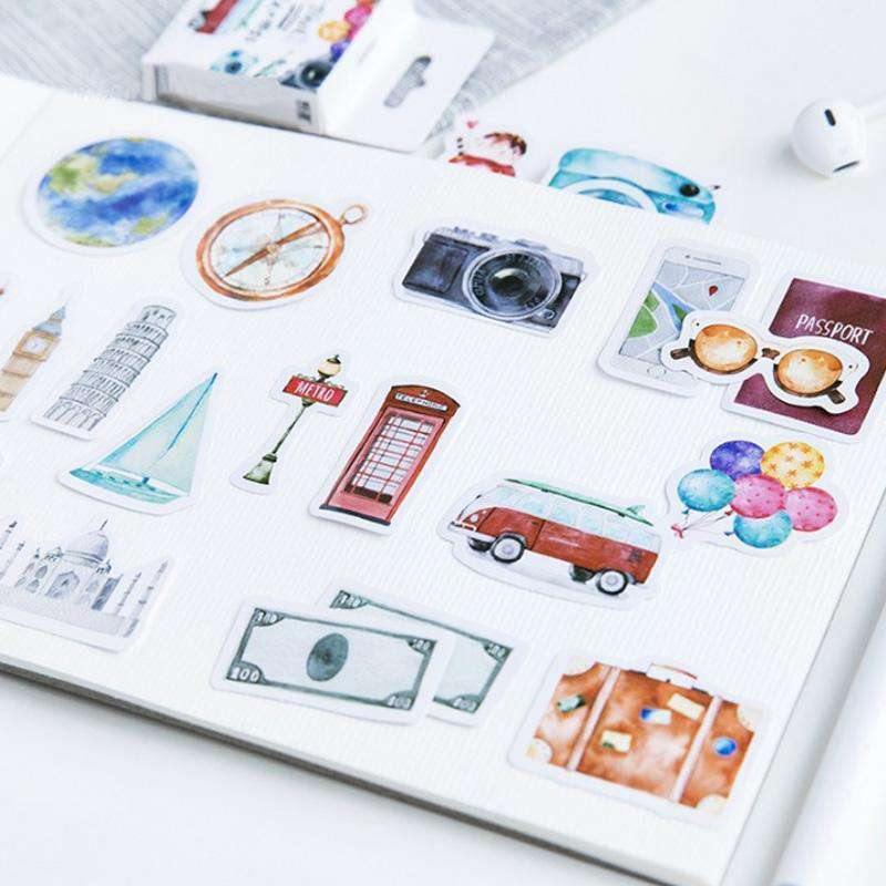 Travel The World Stickers