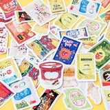 Kawaii Snacks Sticker Set