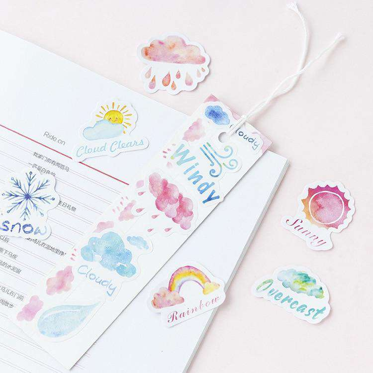 Weather You Like Me or Not Sticker Set