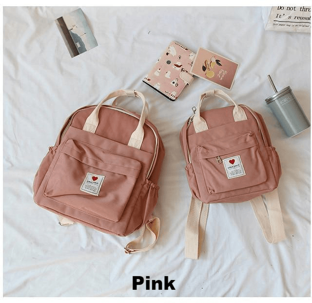 Koko Soft Canvas Backpack