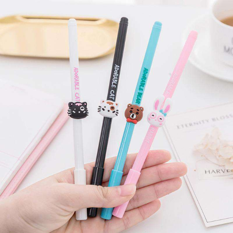 Animal Gel Pens - Set of 4!