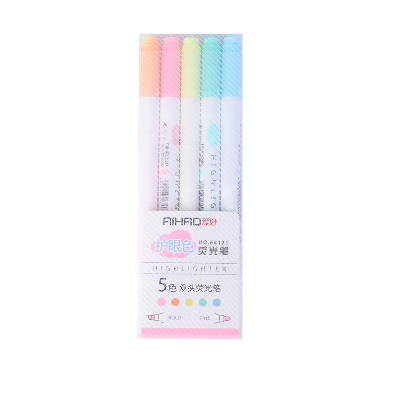 Aihao Double Sided Highlighter Set