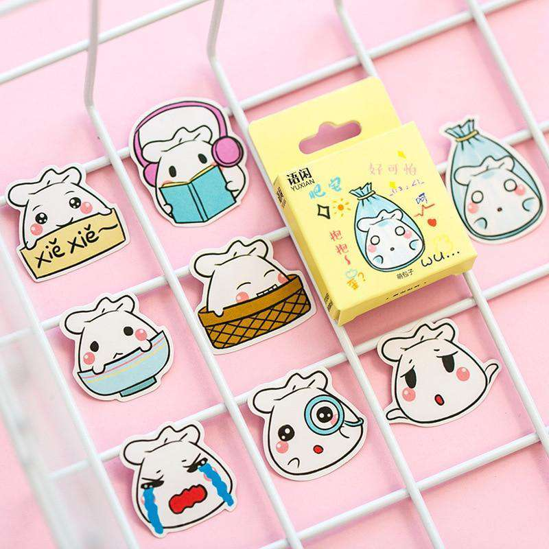 Kawaii Bao Bao Sticker Set