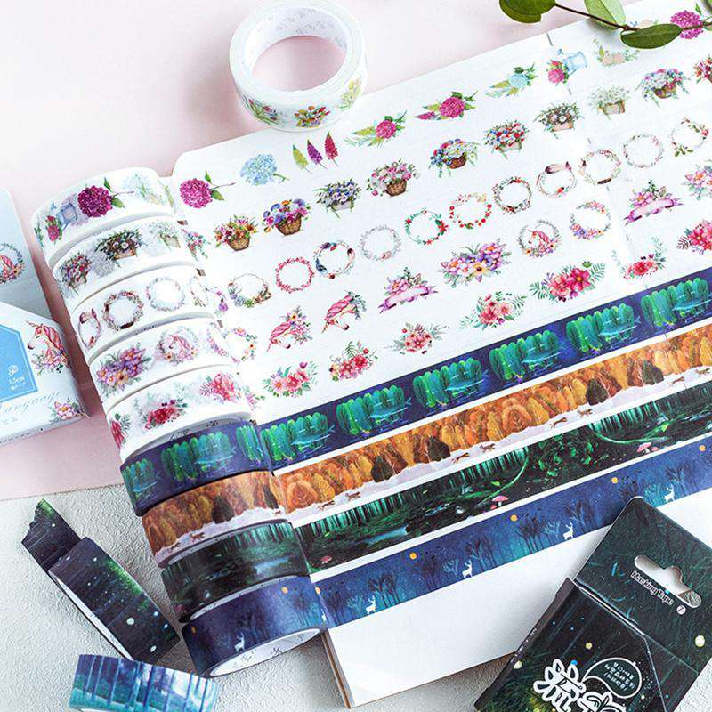 Garden Dreams Washi Tape - Set of 6!