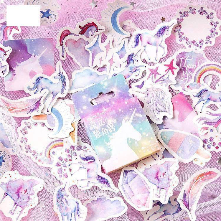 Magical Unicorn Sticker Set