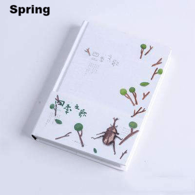 Song Of The Season Hardcover Notebook with Unique Art Pages