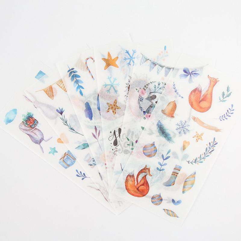 Enchanting Autumn Sticker Set - Includes 6 Sheets!